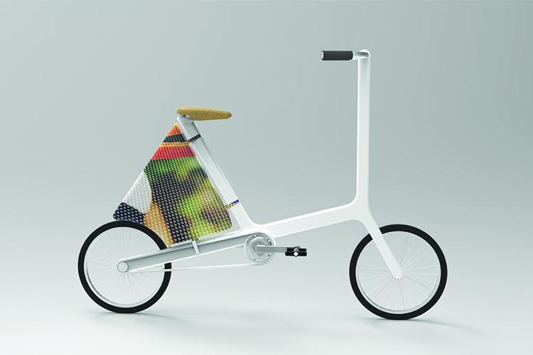 אופניים עירוניות, טבעוניות, ממוחזרות