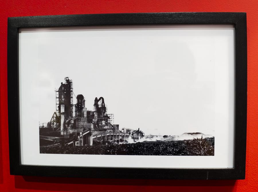 המפעל, מפעל המלט נשר, 2016. צילום: יצחק גורן