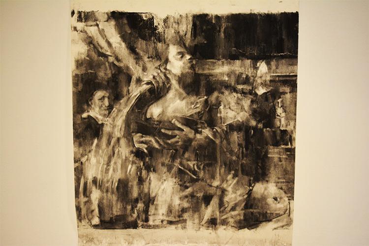 העבודה 'פנטימנטו מס.3' של האמן צוקי גרביאן. צילום: מרק דורנבאום