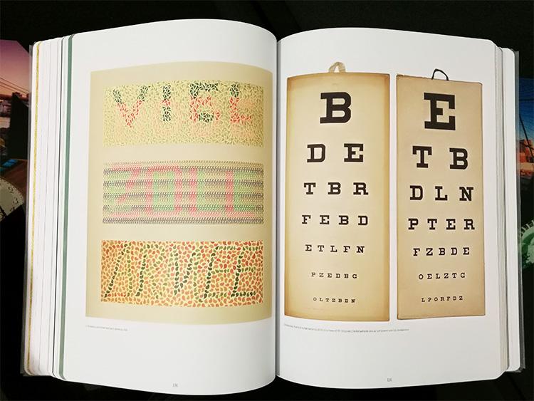 תרשימים לבדיקות ראייה ועיוורון צבעים.