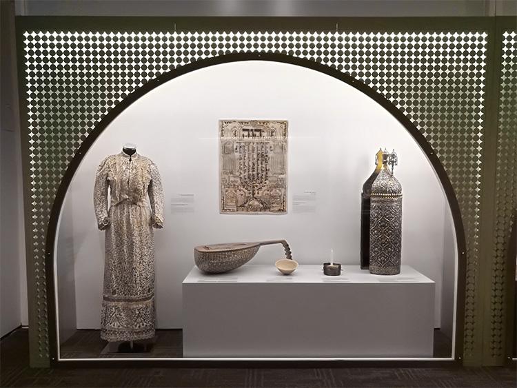 חלל תצוגה של פריטים מעיראק