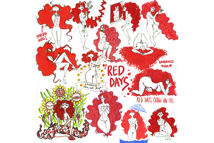 red days compliation