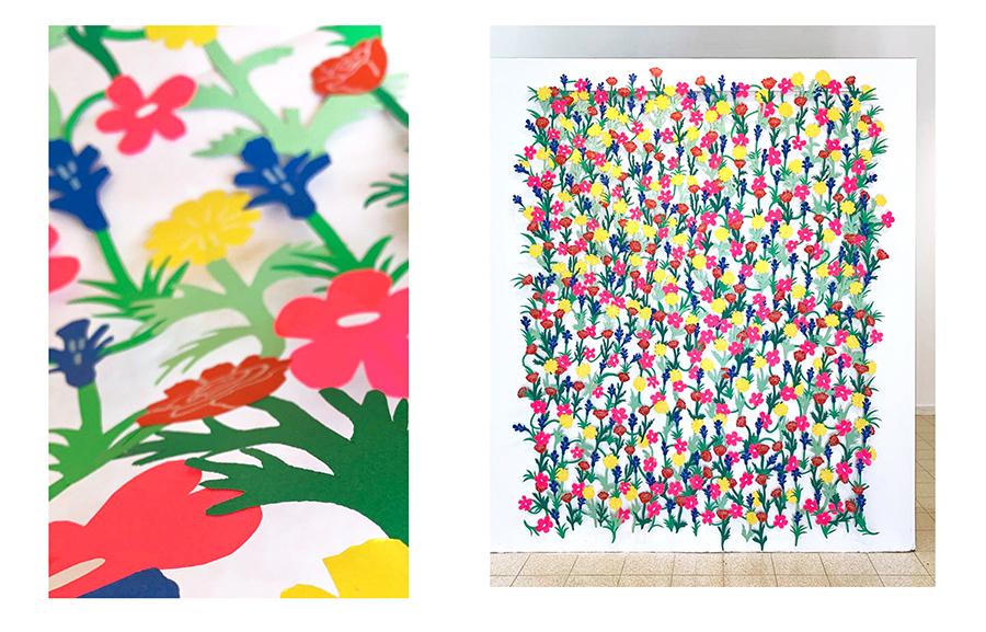 ״גזרתי לי שדה פרחים״, מתוך פסטיבל אאוטליין