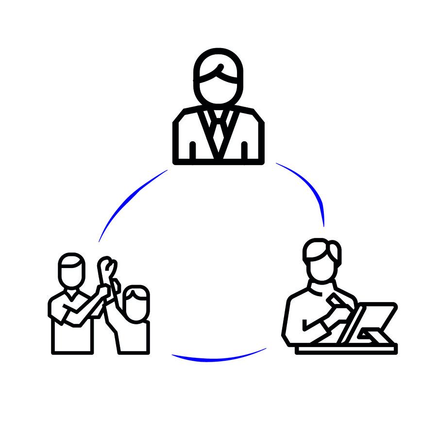 משולש העיצוב, אייקונים: תומס זלנאביטינג ו-ArmOkay. מאתר The Noun Project