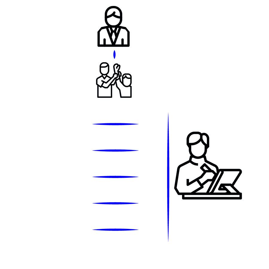 מדרג ערכים, אייקונים: תומס זלנאביטינג ו-ArmOkay. מאתר The Noun Project
