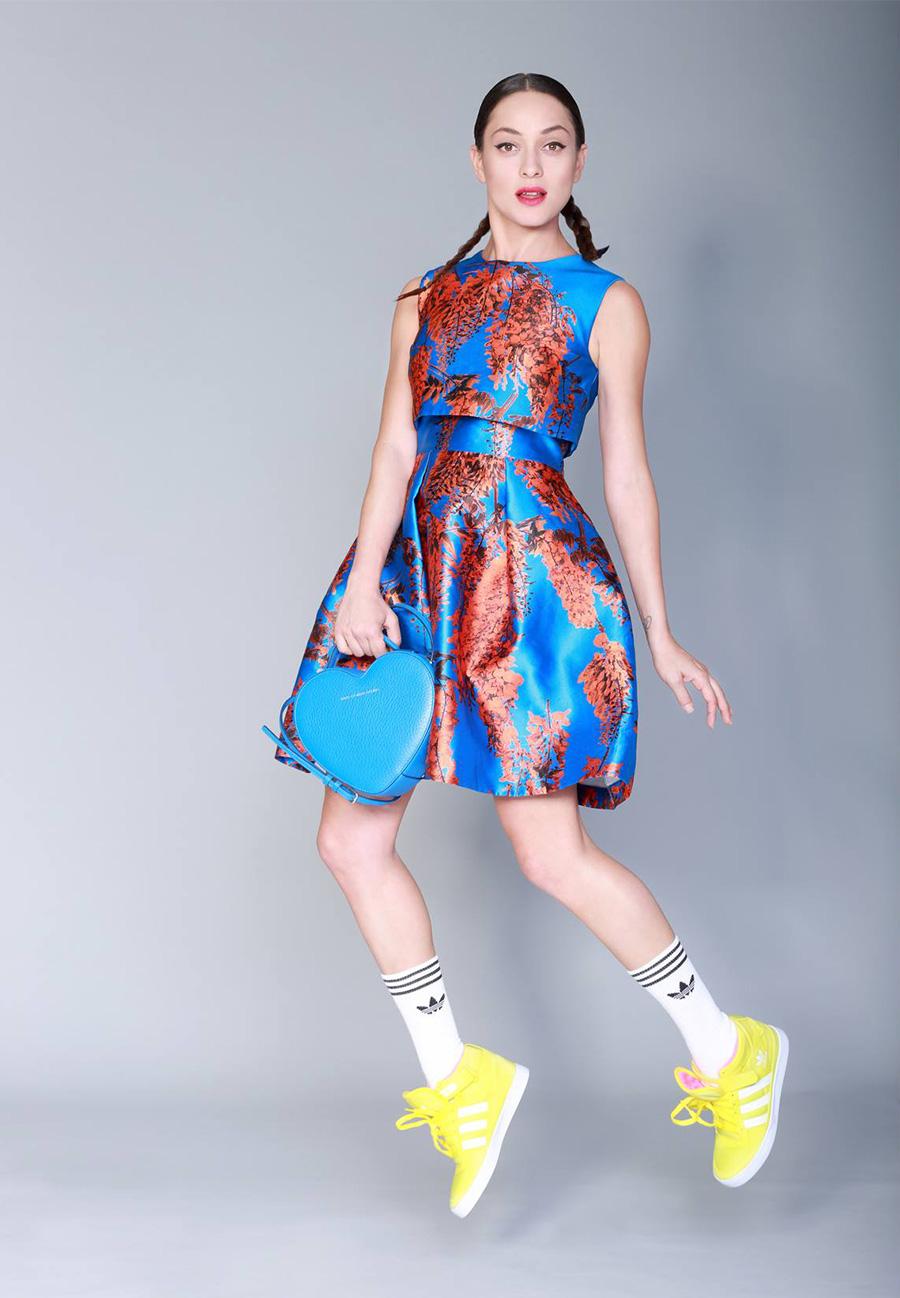 אנה ארונוב, הפקת אופנה לאדידס 2014. צילום: תמר קרוון