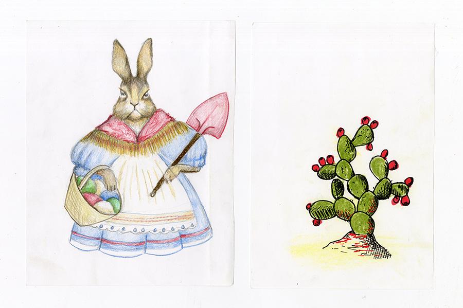 ארנבים סובייטים, סקיצה 1.