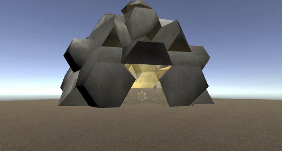 המבנה, מתוך הפרויקט של ענבר